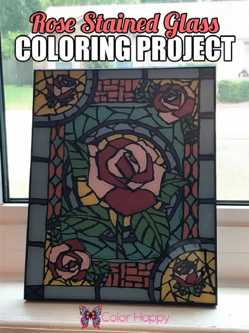 Rose-Stained-Glass-Coloring-Project-768x1024
