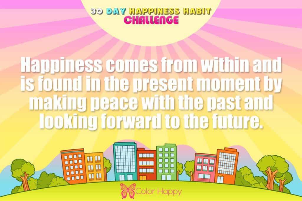 happiness challenge 3
