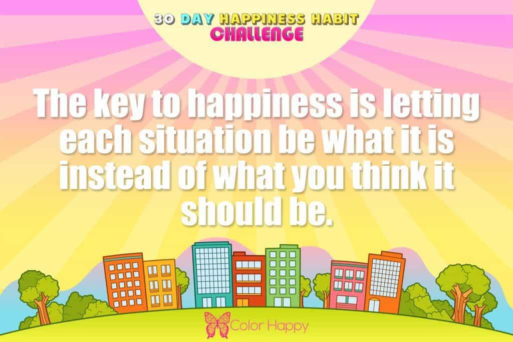 happiness challenge 4