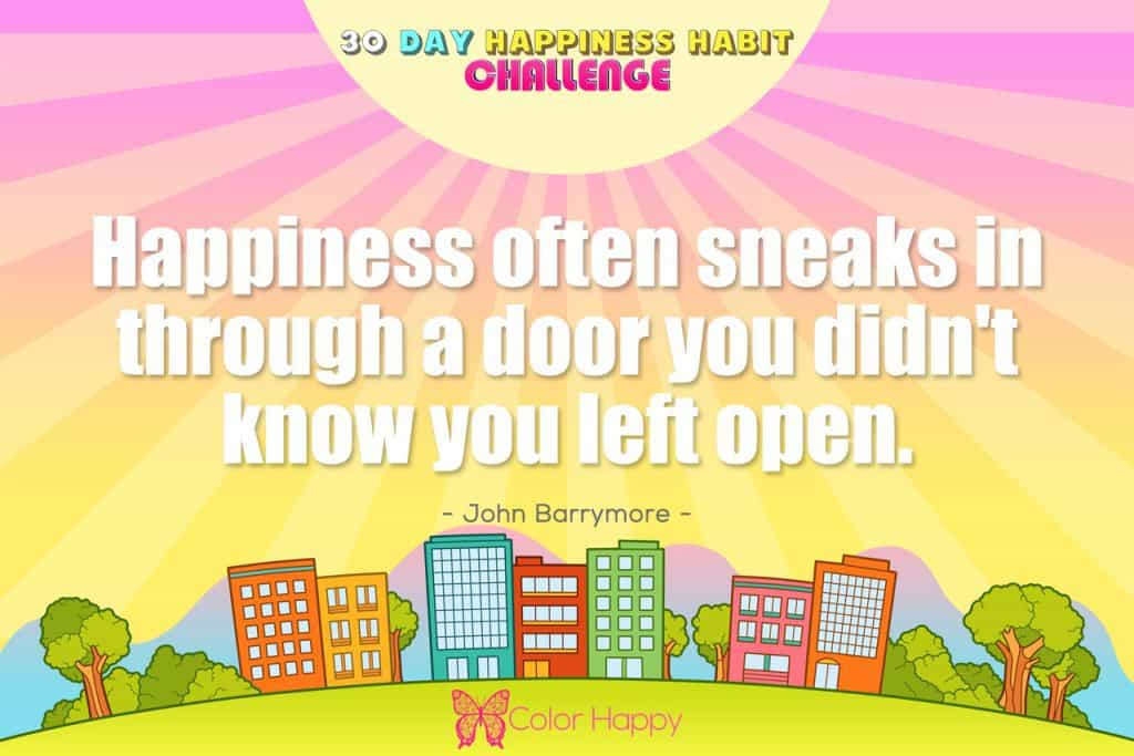 happiness challenge 6