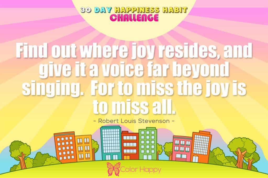 happiness challenge 14