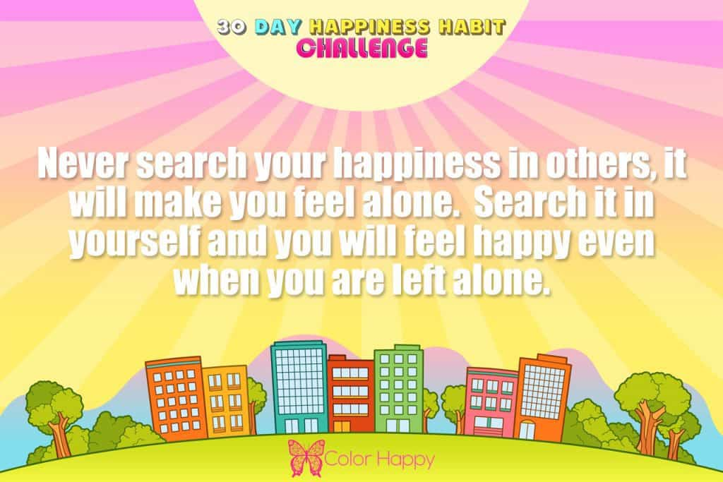 happiness challenge16