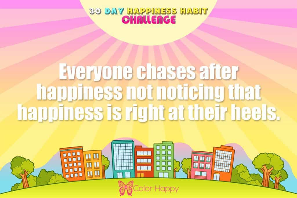 happiness challenge 17