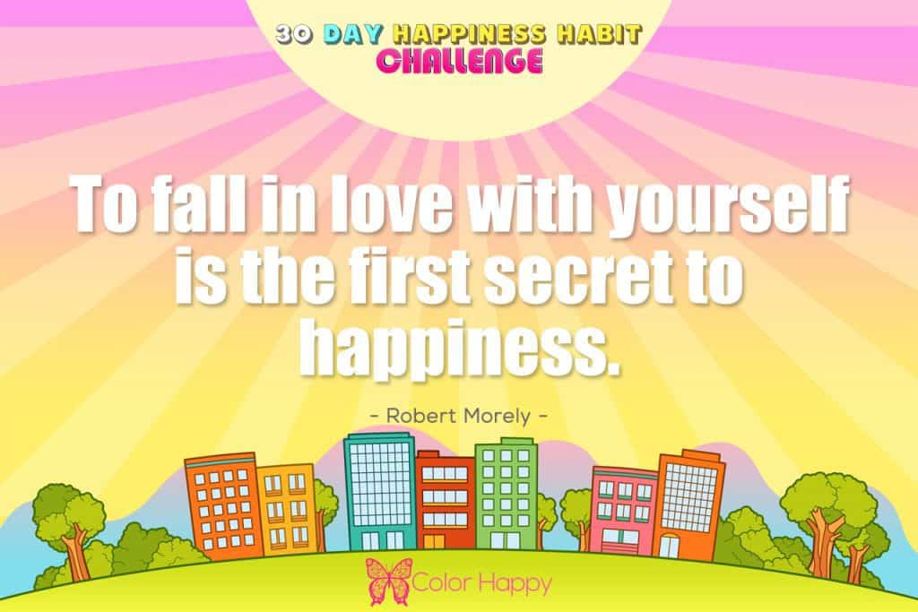 happiness challenge 18