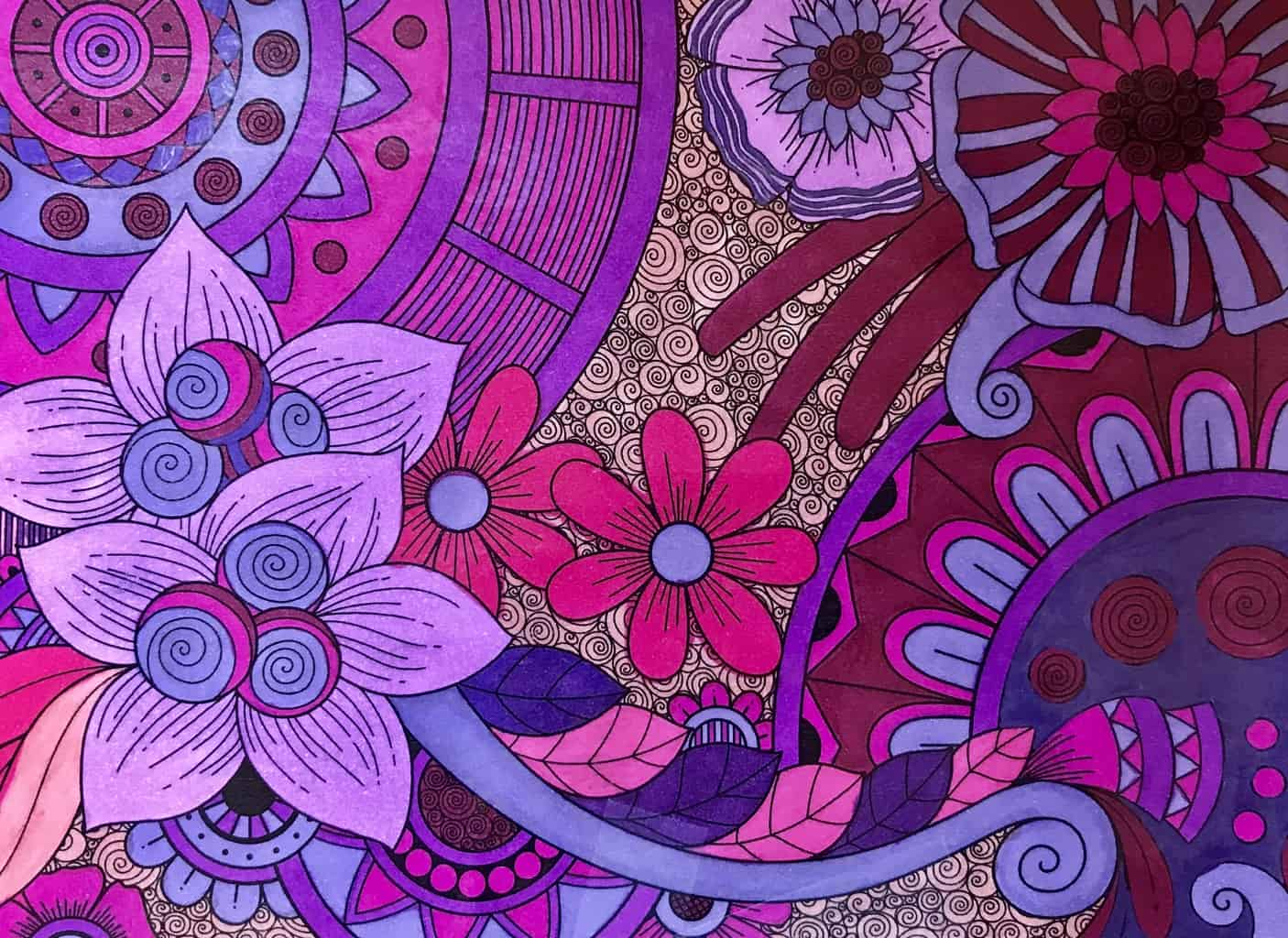 Color Happy Coloring Pages for Adults – Spreading Joy Through Color